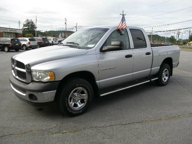 2002 DODGE RAM 1500 ST QUAD CAB SHORT BED 4WD silver all power equipment on this vehicle is in wor