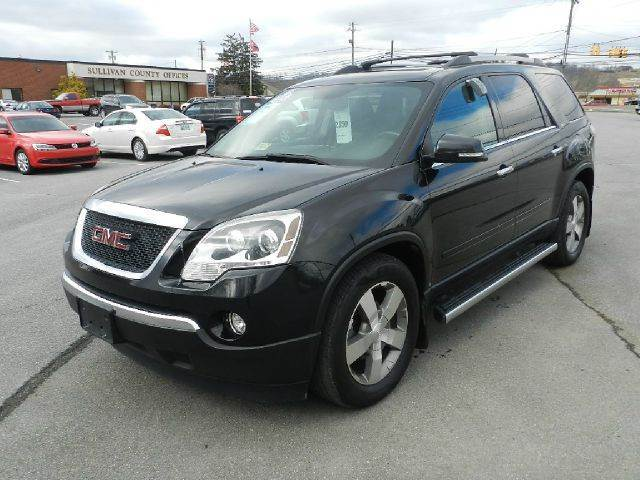 2011 GMC ACADIA SLT-2 AWD 4DR SUV abs - 4-wheel airbag deactivation - occupant sensing passenger