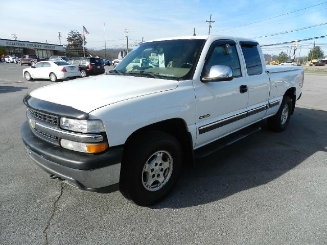 2002 CHEVROLET SILVERADO 1500 LT 4DR EXTENDED CAB 4WD SB white all electrical and optional equipme
