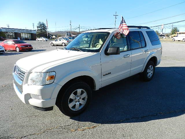 2008 FORD EXPLORER XLT 40L 2WD white you wont find any electrical problems with this vehicle  ve