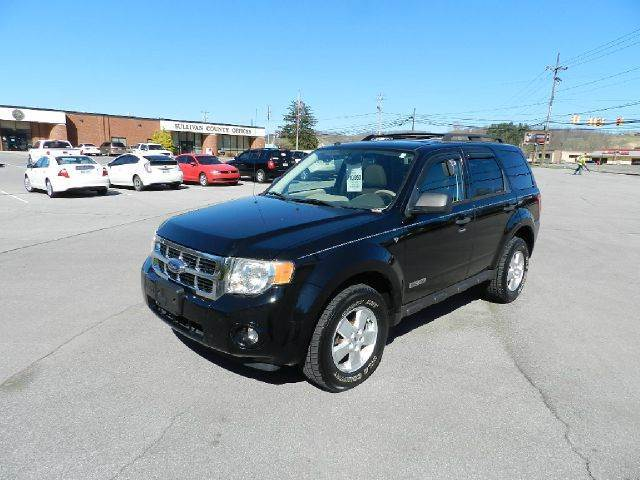 2008 FORD ESCAPE XLT AWD 4DR SUV black all electrical and optional equipment on this vehicle have