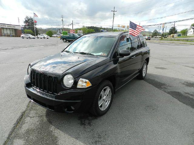 2007 JEEP COMPASS SPORT 4WD 4DR SUV black all electrical and optional equipment on this vehicle ha