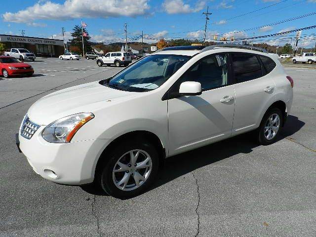 2008 NISSAN ROGUE SL AWD white all electrical and optional equipment on this vehicle have been che