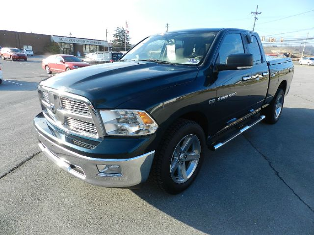 2011 RAM RAM PICKUP 1500 BIG HORN 4X4 4DR QUAD CAB 63 FT green this extra clean exterior makes th