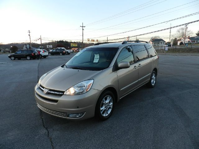 2004 TOYOTA SIENNA XLE LIMITED 7 PASSENGER AWD 4DR gold abs - 4-wheel anti-theft system - alarm