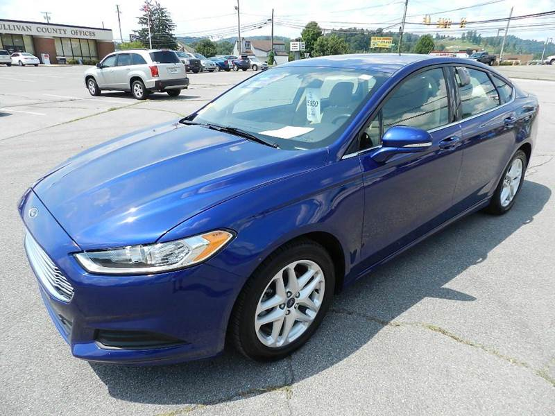 2014 FORD FUSION SE 4DR SEDAN blue all power equipment is functioning properly  there are no def