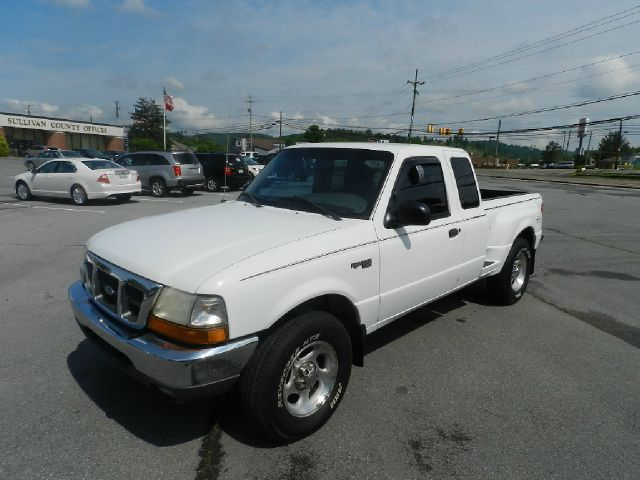 2000 FORD RANGER XLT 2DR 4WD EXTENDED CAB STEPSID white 15 inch wheels abs - 4-wheel alloy wheel