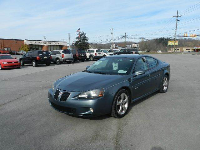 2006 PONTIAC GRAND PRIX GXP 4DR SEDAN blue all power equipment on this vehicle is in working order