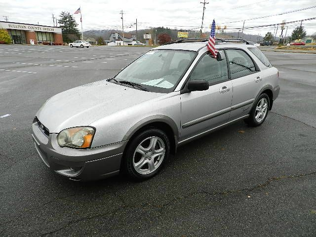 2004 SUBARU IMPREZA SPORT silver all power equipment on this vehicle is in working order  no defe