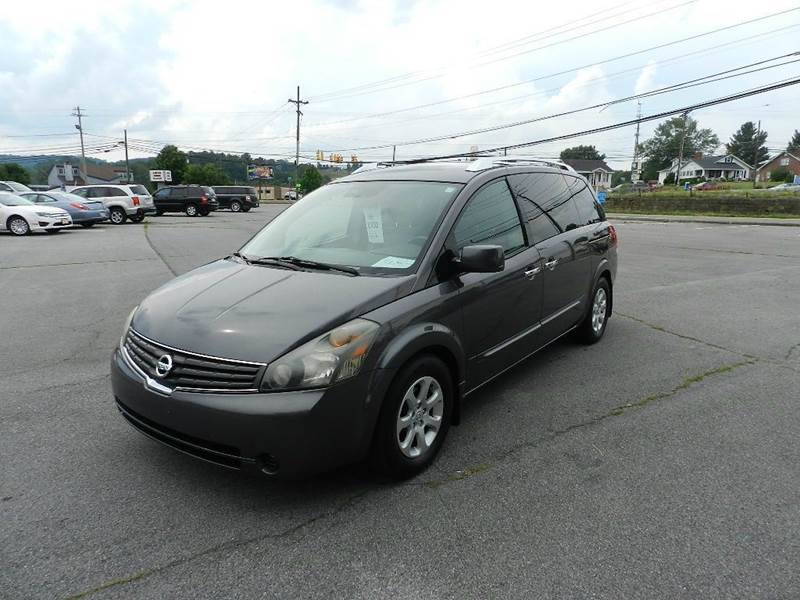 2007 NISSAN QUEST 35 SL 4DR MINI VAN grey the electronic components on this vehicle are in worki