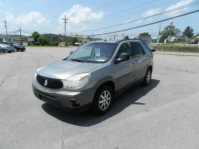 2004 BUICK RENDEZVOUS CXL AWD 4DR SUV silver abs - 4-wheel anti-theft system - alarm cassette