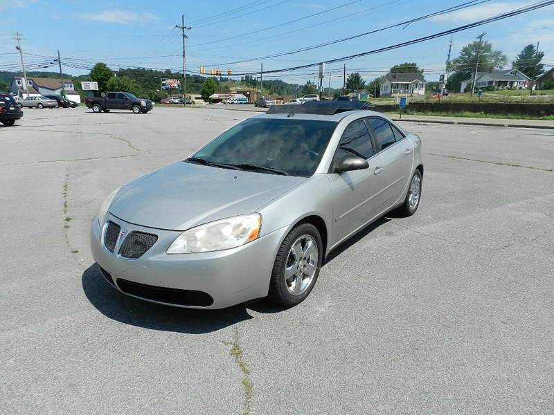 2005 PONTIAC G6 GT 4DR SEDAN silver you wont find any electrical problems with this vehicle  veh