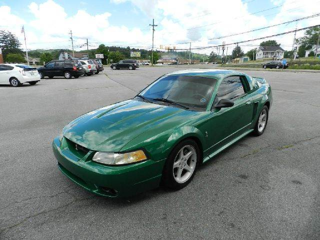 1999 FORD MUSTANG SVT COBRA BASE 2DR STD COUPE electric green all electrical and optional equipme
