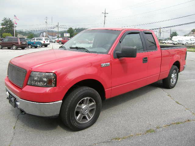 2006 FORD F150 XLT SUPERCAB 4WD red 4wdawdabs brakesair conditioningamfm radioanti-brake sys