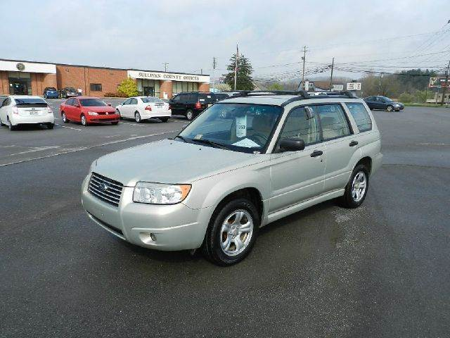2006 SUBARU FORESTER 25 X AWD 4DR WAGON beige the electronic components on this vehicle are in w