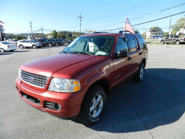 2004 FORD EXPLORER XLT 4WD 4DR SUV red abs - 4-wheel anti-theft system - alarm axle ratio - 355