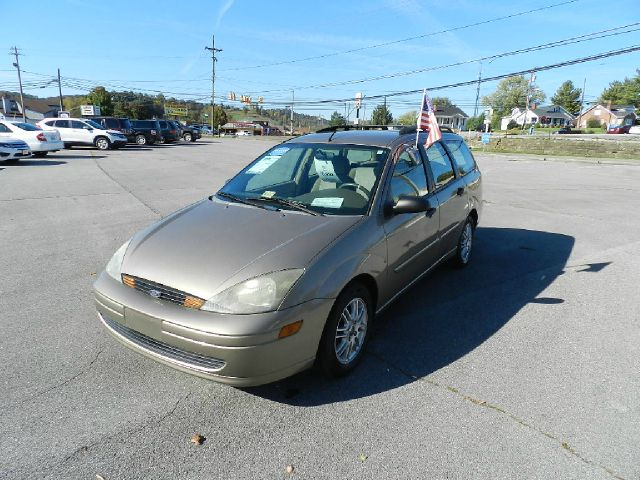2003 FORD FOCUS SE 4DR WAGON beige center console clock exterior mirrors - power front air cond