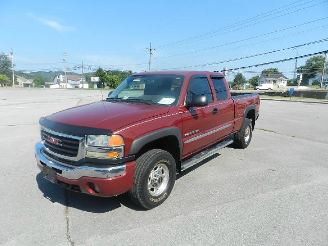 2004 GMC SIERRA 2500HD SLE 4DR EXTENDED CAB 4WD SB maroon abs - 4-wheel anti-theft system - alarm
