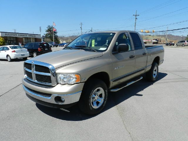 2005 DODGE RAM 1500 LARAMIE QUAD CAB SHORT BED 4WD gold 4wdawdabs brakesadjustable foot pedals