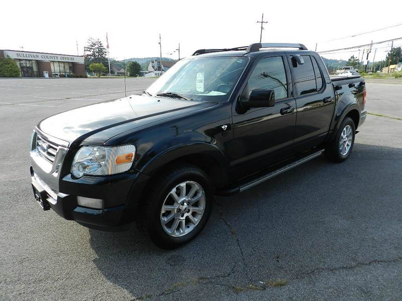 2007 FORD EXPLORER SPORT TRAC LIMITED 4DR CREW CAB 4WD V8 black there are no electrical concerns