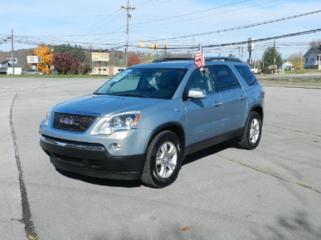 2008 GMC ACADIA SLT-1 4DR SUV blue 2-stage unlocking - remote 3rd row floor mats abs - 4-wheel