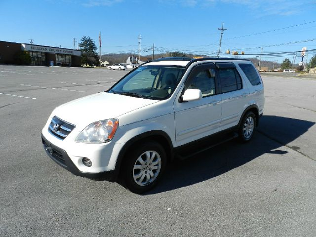 2005 HONDA CR-V SE 4WD AT white all electrical and optional equipment on this vehicle have been ch