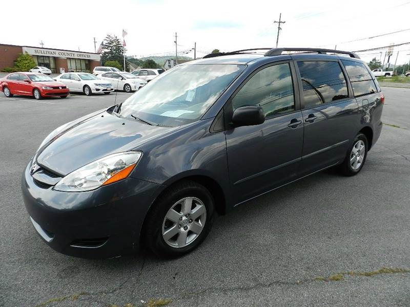 2008 TOYOTA SIENNA LE 8-PASSENGER 4DR MINI VAN blue all power equipment is functioning properly