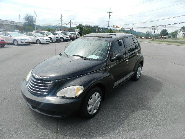 2006 CHRYSLER PT CRUISER BASE 4DR WAGON black the electronic components on this vehicle are in wor