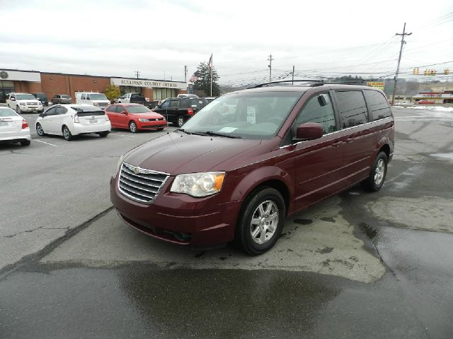 2008 CHRYSLER TOWN AND COUNTRY TOURING MINI VAN PASSENGER maroon 2-stage unlocking - remote abs