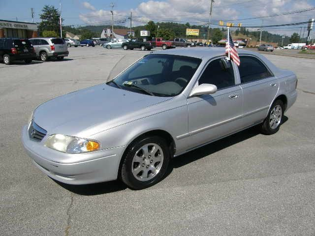 2001 MAZDA 626 LX silver the electronic components on this vehicle are in working order  there ar