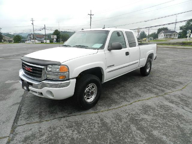 2003 GMC SIERRA 2500 SLT 4DR EXTENDED CAB 4WD SB white abs - 4-wheel anti-theft system - alarm a