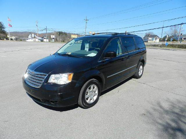 2010 CHRYSLER TOWN AND COUNTRY TOURING 4DR MINI VAN black all power equipment on this vehicle is i
