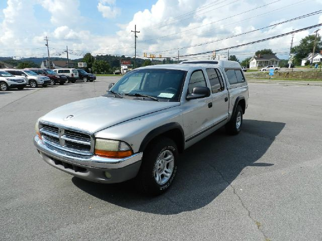 2001 DODGE DAKOTA SLT 4DR QUAD CAB 2WD silver all electrical and optional equipment on this vehicl