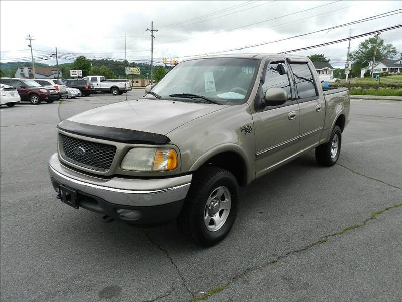 2001 FORD F-150 XLT 4DR SUPERCREW 4WD STYLESIDE beige you wont find any electrical problems with