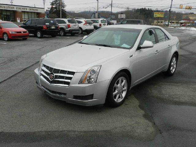 2009 CADILLAC CTS 36L V6 4DR SEDAN W AUTO silver all electrical and optional equipment on this