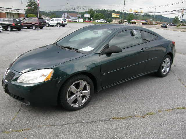 2006 PONTIAC G6 GT COUPE green all power equipment on this vehicle is in working order  there are