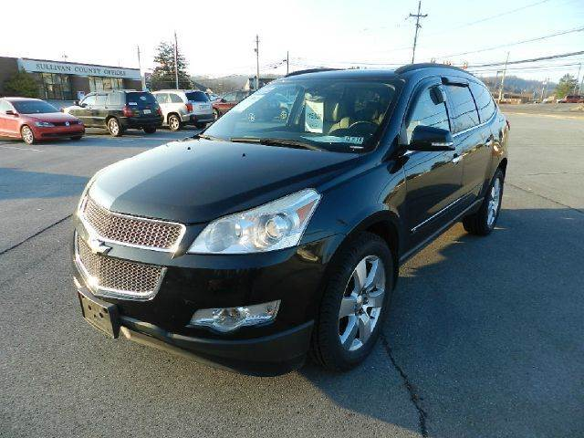 2009 CHEVROLET TRAVERSE LTZ 4DR SUV black there are no electrical problems with this vehicle  the