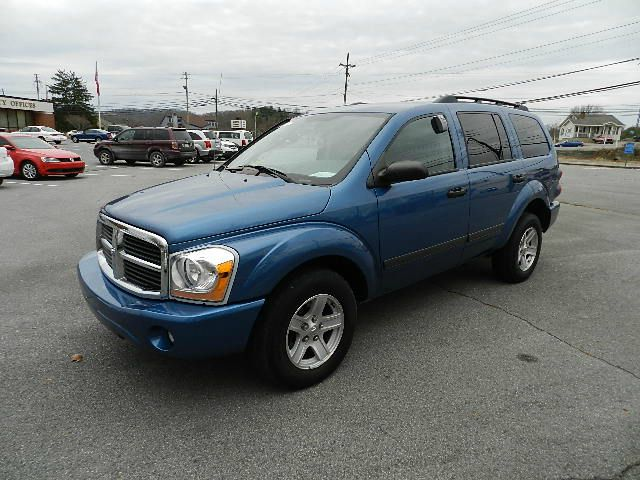 2006 DODGE DURANGO SLT 4WD blue all electrical and optional equipment on this vehicle have been ch