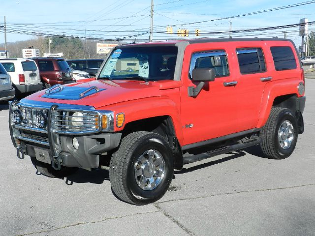 2006 HUMMER H3 LUXURY 4DR SUV 4WD red the electronic components on this vehicle are in working ord