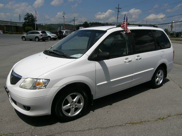 2002 MAZDA MPV LX white the electronic components on this vehicle are in working order  this vehi