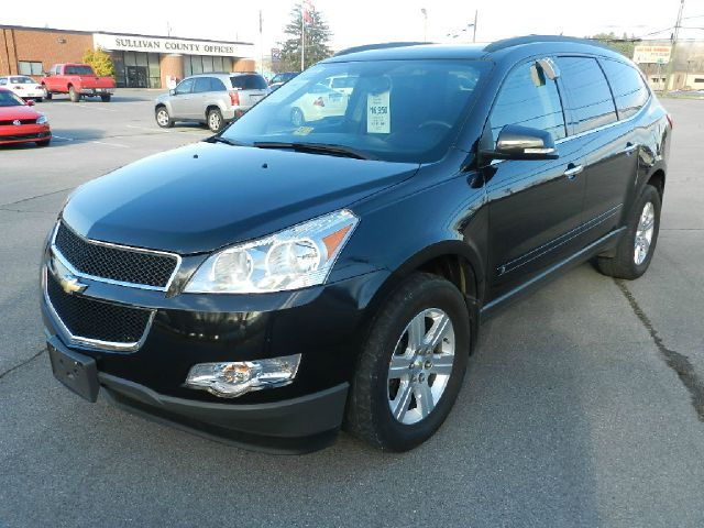 2010 CHEVROLET TRAVERSE LT AWD 4DR SUV W1LT black 7-passenger seating abs - 4-wheel antenna typ