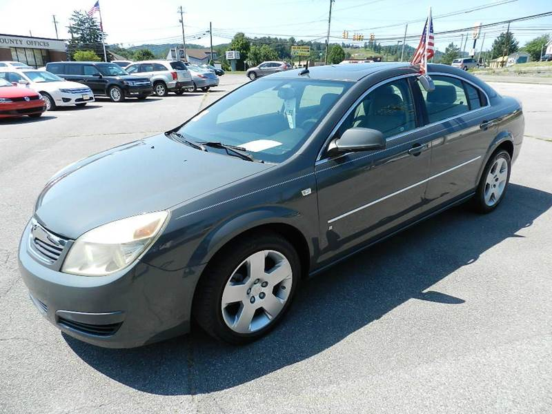 2007 SATURN AURA XE 4DR SEDAN gray 2-stage unlocking - remote abs - 4-wheel airbag deactivation