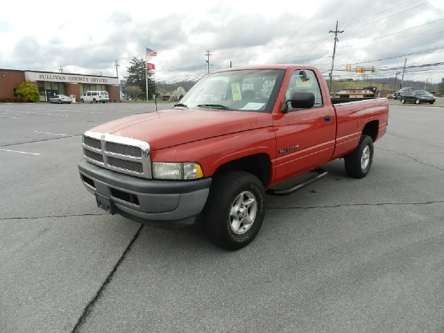 1997 DODGE RAM 1500 LT REG CAB 8-FT BED 4WD red 4wdawdabs brakesanti-brake system 2-wheel ab