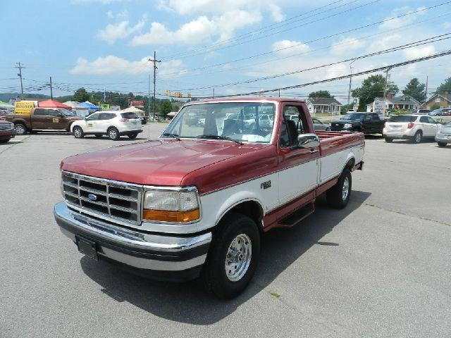 1995 FORD F-150 XLT 2DR 4WD STANDARD CAB LB red there are no electrical concerns associated with t