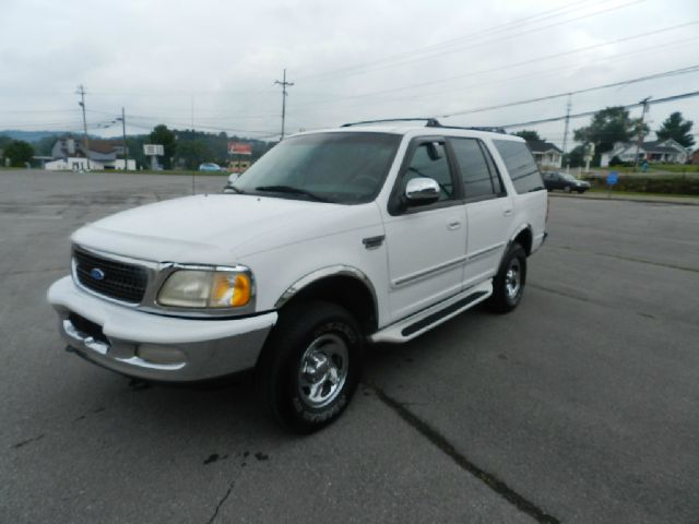 1997 FORD EXPEDITION XLT 4DR 4WD SUV white abs - 4-wheel bumper color - chrome cassette exterio