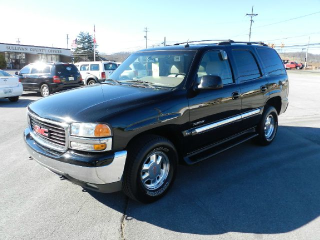 2002 GMC YUKON SLT 4WD black all electrical and optional equipment on this vehicle have been check