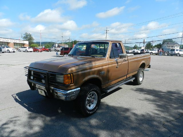 1988 FORD F-250 BASE 2DR STD 4WD STANDARD CAB LB brown all electrical and optional equipment on th
