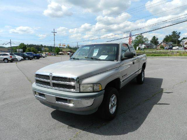 1999 DODGE RAM PICKUP 1500 ST 4DR 4WD EXTENDED CAB SB silver all electrical and optional equipmen