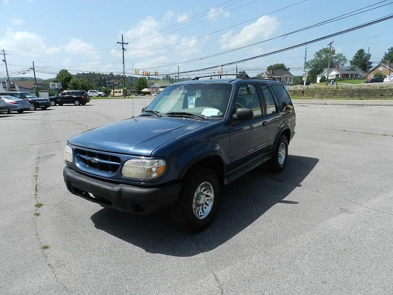 1999 FORD EXPLORER SPORT 2DR SUV blue you wont find any electrical problems with this vehicle  t