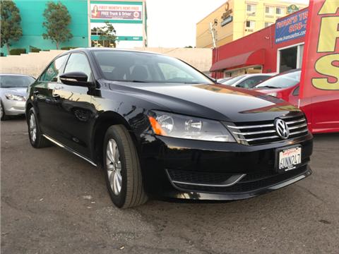 2012 Volkswagen Passat for sale in San Diego, CA